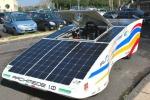 Archimede 1.0 torna a Pergusa, l'auto a energia solare testa le sue forze