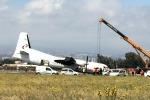 Il carrello non funziona, atterraggio d'emergenza a Fontanarossa