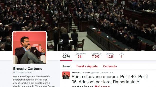 pd, polemica, referendum trivelle, twitter, Sicilia, Politica