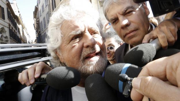 comunali palermo, m5s, Beppe Grillo, Palermo, Politica