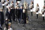 Festa della Liberazione: Mattarella, Renzi e Grasso all'altare della patria. Deposta corona d'alloro
