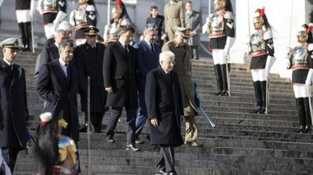 25 aprile, altare della patria, festa della liberazione, Sicilia, Politica