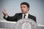 Renzi: opere pubbliche, fondi alla Sicilia ma adesso cambi il modo di spenderli