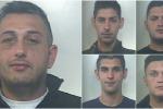 Rapine seriali ad anziani tra Cinisi e Carini - Nomi e foto dei 5 arrestati