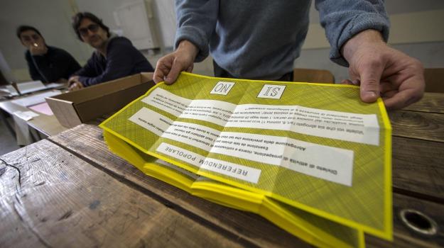 referendum 4 dicembre, Sicilia, Cronaca