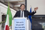 Renzi a Palermo, firmato il patto con Orlando - Video