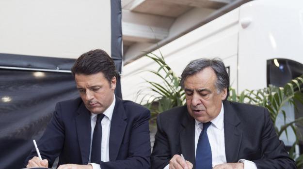 premier, Sicilia, Sicilia, La politica di Renzi