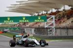 Gp Cina, Rosberg in pole: terza la Ferrari di Raikkonen