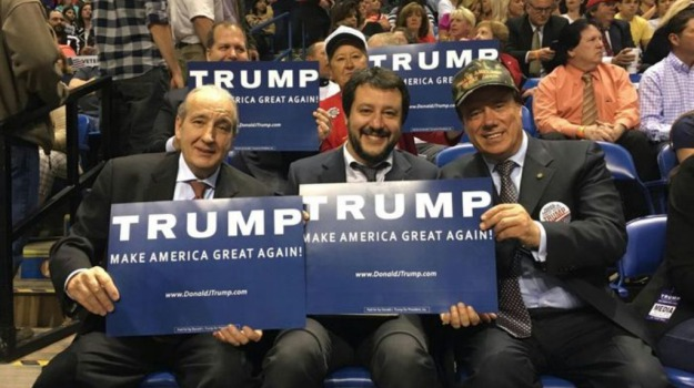 Lega Nord, primarie, USA, Donald Trump, Matteo Salvini, Sicilia, Politica
