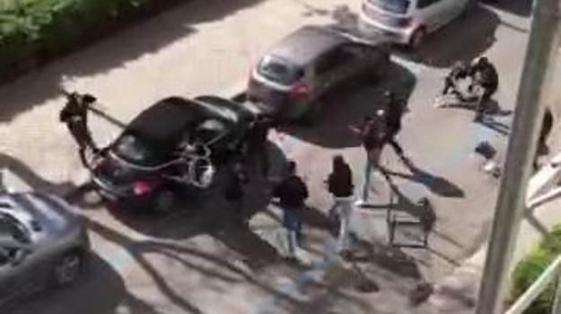 lazio, Palermo, scontri, tifosi, Palermo, Cronaca