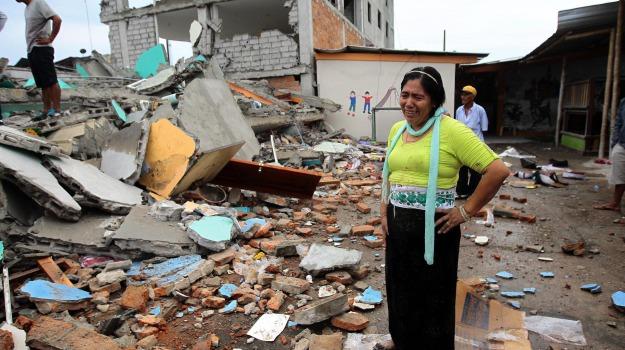 Ecuador, terremoto, vittime, Sicilia, Mondo