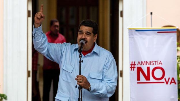 Venezuela, Nicolas Maduro, Sicilia, Mondo