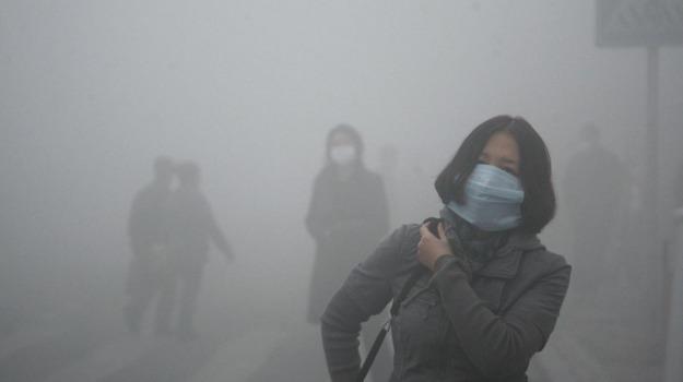 aria inquinata, clima, Sicilia, Società