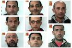 Sbarco a Palermo, nomi e foto degli otto scafisti fermati