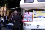 """""""Il fisco mette le ruote"""", il camper fa tappa a Palermo - Video"""