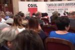 Presentata a Palermo la Carta dei diritti universali del lavoro