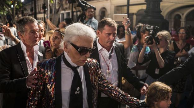 Morto Lagerfeld, Karl Lagerfeld, Sicilia, Mondo