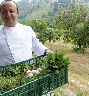 Chef diventano ortolani... e i prodotti finiscono poi in cucina