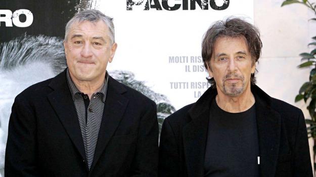 attori, film, Al Pacino, Martin Scorsese, Robert De Niro, Sicilia, Cultura