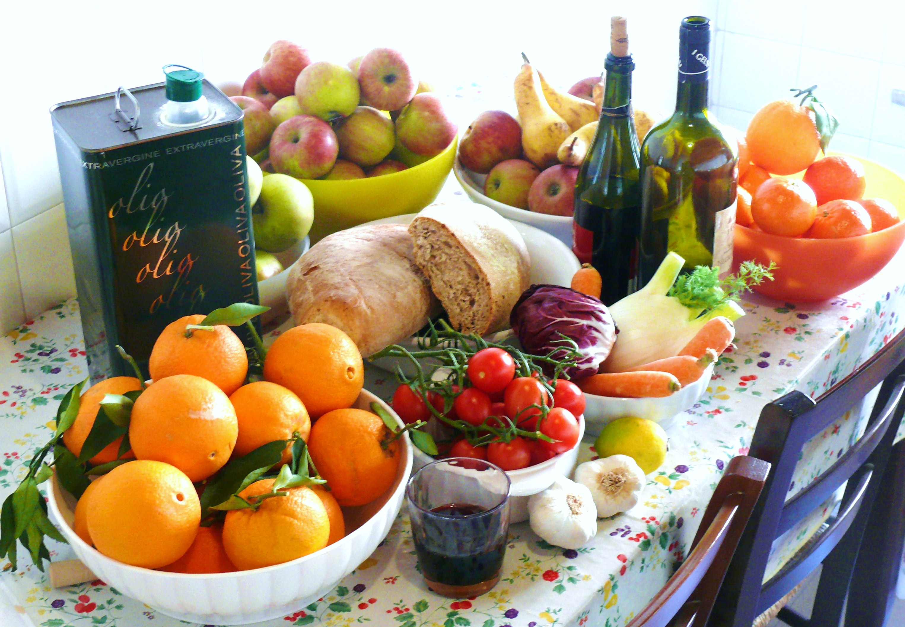 dieta mediterranea e alimenti funzionali