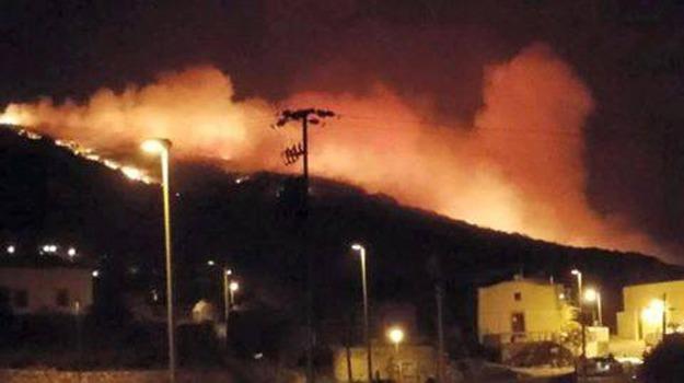 incendi pantelleria, Trapani, Cronaca