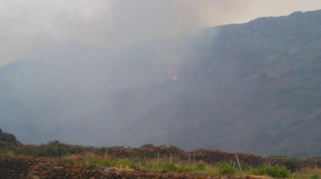 incendio, Pantelleria, Trapani, Politica