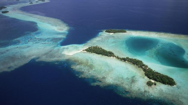 atolli, innalzamento del mare, Sicilia, Società