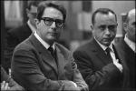 Leonardo Sciascia e Vito Laterza (Foto di Ferdinando Scianna)