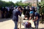 Abusivismo, le foto degli scontri a Licata