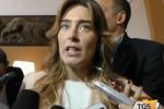 Maria Elena Boschi a Palermo: l'intervista