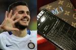 Mauro Icardi non bada a spese: sui social il suo nuovo smartphone da 20 mila euro - Foto