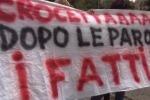 Sviluppo Italia Sicilia, la protesta dei lavoratori - Video