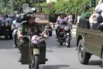 Bersaglieri, il raduno a Palermo: sfilata di auto e moto d'epoca in centro - Video