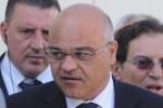 Il presidente del Parco dei Nebrodi, Giuseppe Antoci ed il presidente della Regione, Rosario Crocetta