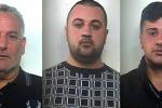 La cosca mafiosa di Borgetto e le alleanze per le estorsioni: le foto dei coinvolti