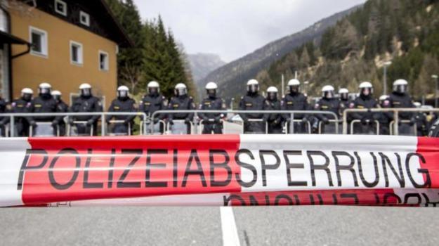 Austria, Brennero, migranti, Sicilia, Mondo