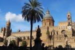 La Cattedrale di Palermo: qui è stata realizzata la prima Infiorata in onore della Santuzza