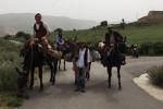 A dorso di mulo per i sentieri di Sicilia: l'«eco-viaggio» di Federico e Mirko