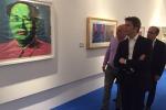 """""""Warhol è Noto"""", alla mostra anche Emanuele Filiberto - Foto"""
