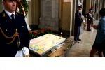 Palermo, messa per Falcone a San Domenico dove riposa il giudice - Video