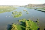 Il fiume Simeto dove si è consumata una delle due tragedie