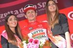 Greipel fa tris a Bibione e saluta il Giro, Jungels conserva la rosa
