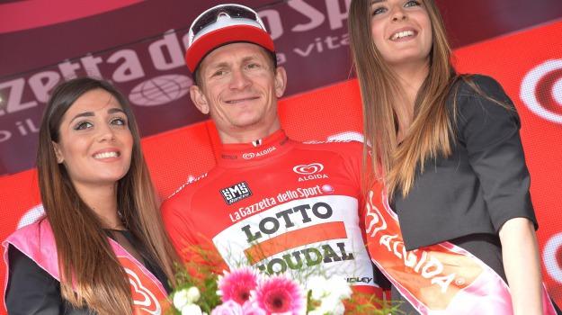 ciclismo, giro d'iitalia, maglia rosa, tappa, Andre Greipel, Sicilia, Sport