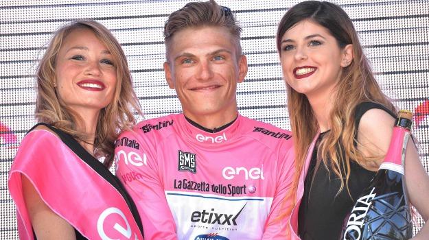 ciclismo, giro d'italia, maglia rosa, tappa, Marcel Kittel, Sicilia, Sport