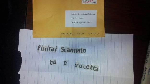 agguato, lettera, minacce, Messina, Cronaca