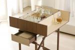 Elegante e con un fascino vintage, il mobile bar sbarca in appartamento