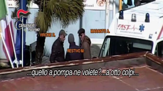 mafia san mauro castelverde, mafia trabia, Palermo, Cronaca