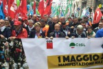 Primo maggio: cortei a Torino, Genova e Milano. Camusso: il lavoro prima di tutto