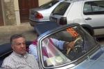 Anche Renato Pozzetto al Giro di Sicilia per auto storiche