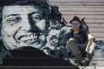 Street art, Anna Magnani rivive sulle scalinate di Roma: le foto